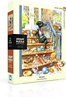 New York Puzzle Company - New Yorker 标签销售 - 1000 块装儿童*拼图