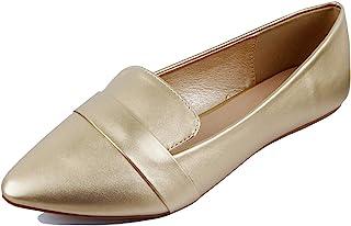 Guilty Heart | 女士柔软舒适尖头一脚蹬鞋 | Penny 乐福平底鞋