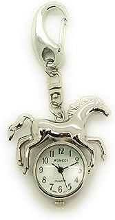 夹式马钥匙扣手表