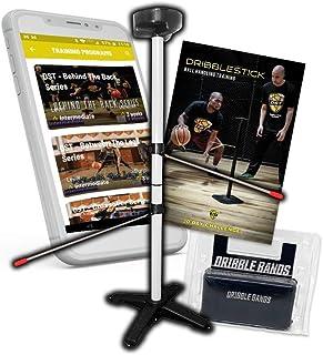 Dribble Stick 2.0 | 拍打摇滚 | 虚拟篮球训练套装 | 健身训练应用程序 | 弹珠带 | 篮球练习簿 | 完美的投掷技巧 | 优质球处理开发