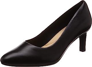 Clarks 女士 Calla Rose 包头高跟鞋