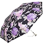 Pasotti 折叠伞 – 美丽的意大利花朵带美丽的宝石手柄