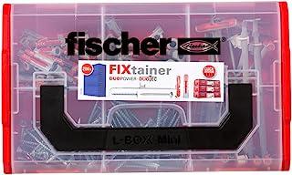 fischer 541106 FIXtainer 电源和智能盒套装,通用拨动销,200 件,Duopower,Duotec 带螺丝,200 件套