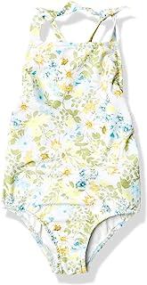 Seafolly 女式系带肩背心连体泳衣