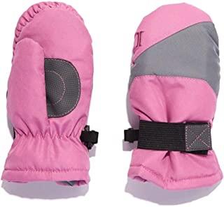 Igloos 女童塔斯隆手套防水滑雪手套 – 隔热,适合寒冷冬季
