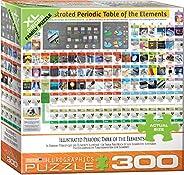 EuroGraphics (EURHR 插图元素周期表 300 块拼图 300 块拼图 300 块拼图