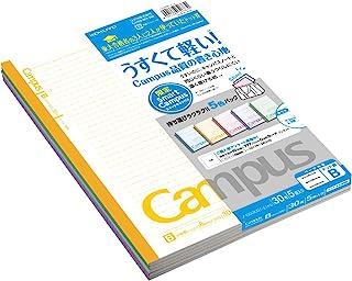 KOKUYO 国誉 笔记本 大学校园笔记本 限量版 5色装 B罫(6mm)