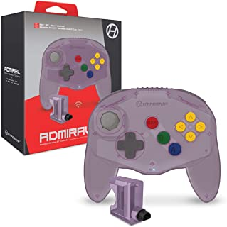 "Hyperkin ""Admiral""高级 BT 控制器,适用于 N64 / Nintendo Switch/ Lite/ PC/ Mac / Android (紫水晶) - Nintendo 64"