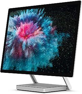 Microsoft 微软 Surface Studio 2 一体机,带 28 英寸 PixelSense 显示屏(铂金)- 英特尔酷睿 i7,16GB 内存,1TB SSD,1060 显卡,Windows 10 Pro