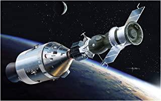 勇者斗恶龙 1/72 阿波罗·索尤斯 试验 阿波罗18号& 索古19号 塑料模型 DR11012