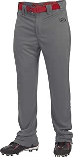 Rawlings Launch Series 游戏/练习棒球裤,青年,纯色,全长