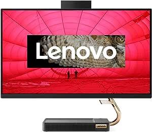 Lenovo 联想 IdeaCentre AIO 5i 60.45 厘米(23.8 英寸,1920 x 1080,全高清,防眩光,一体机台式电脑(英特尔酷睿 i5-10400T,8 GB 内存,512 GB 固态硬盘,DVD 刻录机,NVIDIA GeForce MX330,Win10 家庭版)黑色