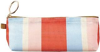 Designphil Midori 笔袋 网眼 条纹图案 红色 41799006