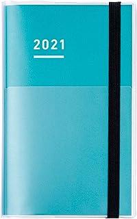 KOKUYO 国誉 自我手帐 mini *张套装 手账 2021年 B6 细长 月历&周历 * NI-JFM1G-21 2020年 11月开始