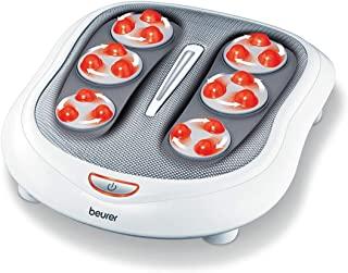 Beurer Shiatsu *按摩器,带 18 个旋转按摩结核,适用于*的脚、足底*和神神经*,2 档速度设置,内置热功能,FM60 需配变压器