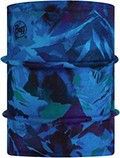 Original Buff 正反两用极地暖脖套,高山蓝色管状,中性款,儿童,黑色,均码