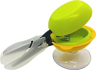 HARAC 桌面剪刀 带底座调整剪刀 弹簧 *推下剪刀 适用于特殊需求 双手训练剪刀 日本制造 *
