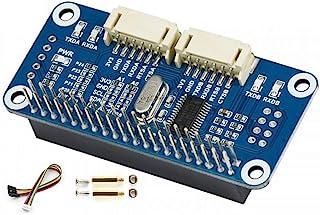 串行扩展 HAT I2C 接口 2-ch Extra UART Plus 8 个可编程 GPIOs 适用于 Raspberry Pi Zero W WH 2B/3B/3B+/4B @XYGStudy