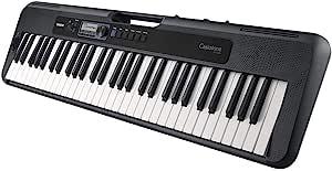 Casio 卡西欧 CT-S300 电子琴,带 61 个触摸动态标准按键和自动伴奏