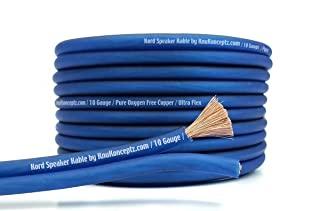 KnuKonceptz Kord Kable 10 Gauge Copper Speaker Wire 50'