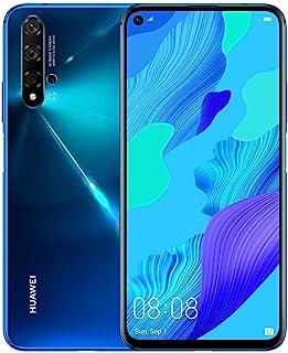 """華為 Nova 5T (128GB, 6GB) 6.26"""" LCD,Kirin 980,48MP 四攝像頭,22.5W 快速充電,雙 SIM GSM 無鎖全球 4G LTE 國際型號 YAL-L21Huawei Nova 5T 深藍色"""