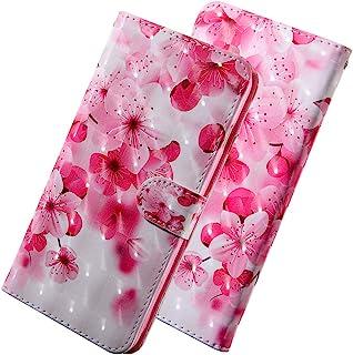 LEECOCO Samsung Galaxy A10 超薄保护壳 BX] Cherry Flower BX-3D