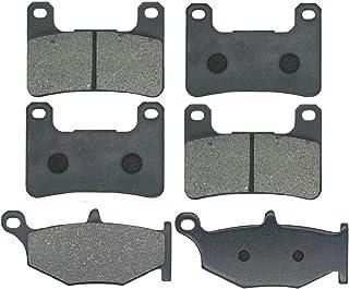 摩托车前后刹车片零件适用于铃木 GSXR600 GSXR750 GSXR 600 K6 K7 K8 K9 L0 2006 2007 2009 2010 GSX-R 750 1000 GSX 1300 R Hayabusa FA379F FAF。...