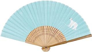 SAKURA CRAYPAS 樱花彩色笔 扇子 QS-131#125 水色/白色熊