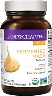 New Chapter 有机玛咖补充剂-发酵玛咖片| 提供能量+耐力+恢复- 96 CT