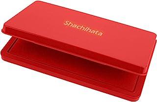 Shachihata 旗牌文具 印台 小型 特大形 红色