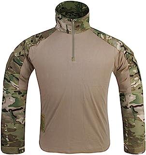 EMERSONGEAR 战术迷彩裤装衬衫带护膝* BDU 战斗裤适用于软弹枪彩弹枪