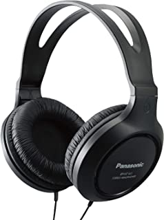 Panasonic 松下 轻量级耳机 带 XBS 端口RP-HT161-K Over Ear 4.1x 7.2x 7.6