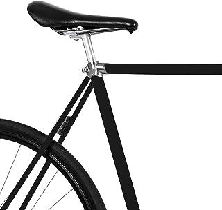 MOOXIBIKE黑色哑光自行车薄膜适用于公路自行车,山地车,越野自行车,固定,荷兰自行车,滑板车,踏板车,大约 13 厘米框架周长。