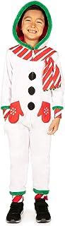 Tipsy Elves 儿童雪人连身衣 - 男孩和女孩