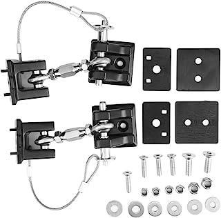 Pupilash 吉普车头锁 - 闩锁和捕获套件 防盗引擎盖锁锁 锁盖 锁定 套件 适用于吉普牧马人 JK 2007-2017