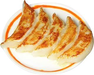 末武Sample 食品样品装饰贴纸(装饰品)带盘子 饺子 约58mm d-13224