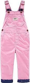 OshKosh B'Gosh 女婴世界上*好的天鹅绒工装裤尺码 9 个月