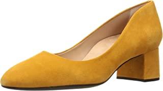 [UNISSA] 浅口鞋 圆形方块跟浅口鞋 女士 LASIE_F19