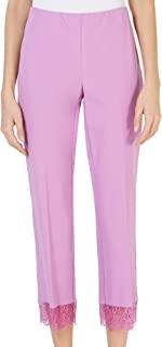 Alfani 女式紫色工作服裤 8 码