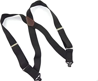 hold-up 黑色 hip-clip 风格背带11/ 5.08cm 宽, gripper 搭扣