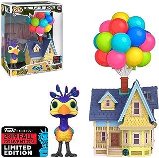 POP! Funko 小镇 Disney Pixar Kevin with Up House #05 2019 秋季会议限量版