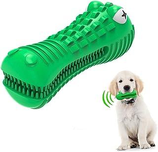 N/B 狗狗咀嚼玩具狗牙刷玩具发声玩具由耐用天然橡胶制成,适合中大型犬(30-80 磅) *