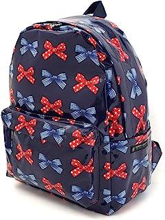帆布背包 波尔卡圆点和条纹法式蝴蝶结(*蓝) N0735800
