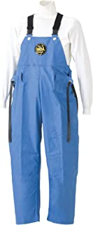 SUMIKURA 带有海洋胸裤 共3种图案 共4种尺寸 雨裤 防水 蓝色 Large G-229