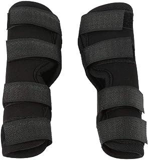 狗腿支撑,1 对狗狗后腿支撑,帮助狗狗受伤,扭伤,*,ACL,宠物**绷带包裹愈伤保护器(L)