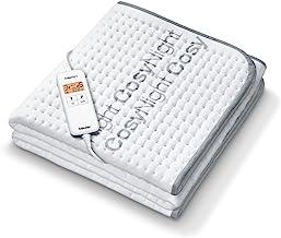 Beurer UB 190 CosyNight 舒適電熱毯,通過應用程序和 Amazon亞馬遜 Alexa 可遠程操控,兩個溫度區域