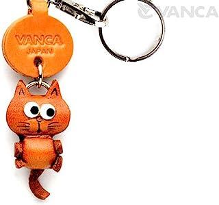 猫皮十二生肖吉祥物小钥匙扣 VANCA CRAFT-可收藏钥匙圈日本制造