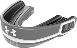 Under Armour 安德玛 Gameday Pro 护齿套适用于足球、长曲棍球、篮球、曲棍球、拳击等运动护齿套。包括可拆卸头盔带。青少年和成人。保护Bucal