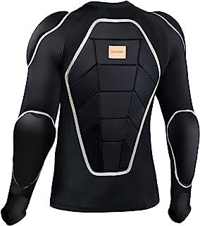 BenKen 摩托车盔甲全身盔甲全身背部胸部肩肘保护装备防护夹克滑板滑雪保护