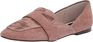 Sanctuary 女式 Sass 2.0 乐福鞋平底,沙漠灰褐色